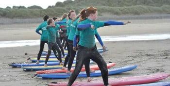 kids camp surf lesson banna beach