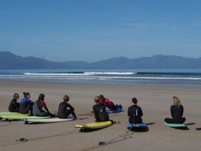 group surf lessons banna beach county kerry