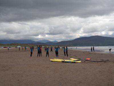 group surf lessons inch kerry