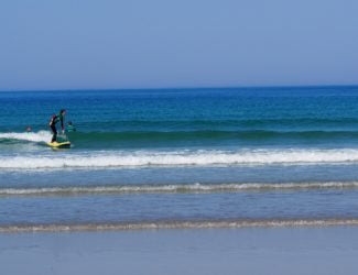 private surf lesson banna beach