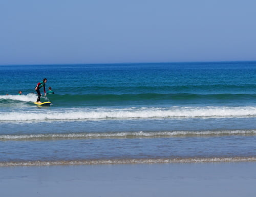 private surf lesson banna beach