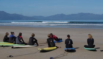 surf lessons for adults and kids at banna beach in county kerry